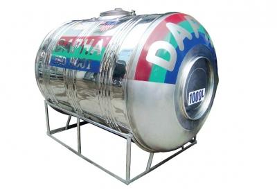 Bồn Inox Dapha 3000 lít Ngang Xuất Khẩu